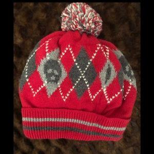 Baby gap boys skull beanie hat. 12/18